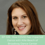 Allie Beach of Broadway Dance Center
